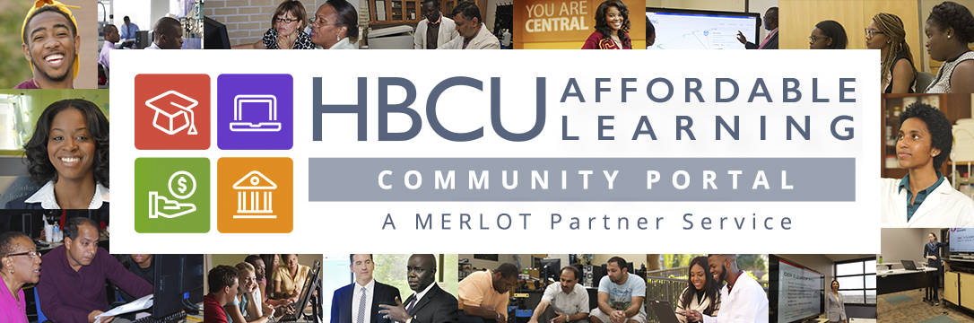 HBCU Affordable Learning Solutions Community Portal